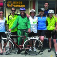 Charity cycle ride raises awareness and $1200 for Canterbury Urology Research Trust